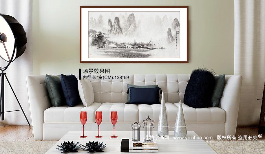 现代简约风格客厅装饰画 追求品质悦享生活