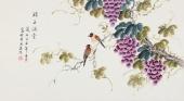 北京美协 工笔画名家 凌雪三尺工笔《珠玉满堂》