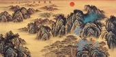【已售】一级美术师陈厚刚四尺山水画作品《蒸蒸日上》