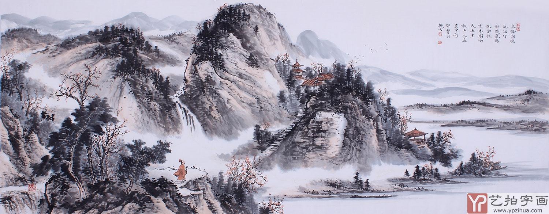 中国山水画 浅绛山水画的发展及分类