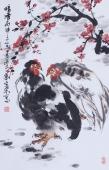 花鸟画名家周宣荣精品字画《暗香》
