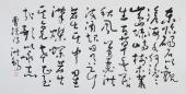 【已售】河北书协王洪锡草书书法作品《观沧海》