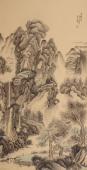 国家一级美术师滕传辉精品山水《溪山幽居图》