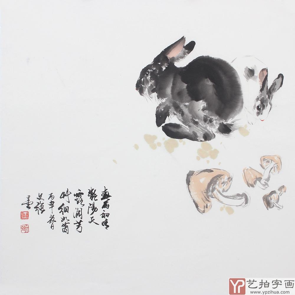 王文强老师所画的猴,虎,鹿,鹤;,牛,羊;通过对动物骨骼结构,肌理驰懈