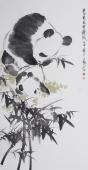 【询价】国家一级美术师王文强四尺竖幅写意作品《爽心最是金秋凤》