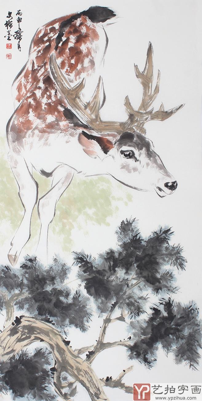 首页 动物画  同年由父亲带着到刘继卣大师家中开始学习中国传统绘画.