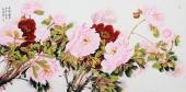 【已售】河北美协杨丽凤四尺写意国画牡丹《花开富贵》
