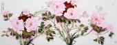 杨丽凤写意小六尺国画牡丹图《锦绣前程》