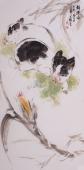 【询价】北京美协王文强写意动物画作品《福运图》