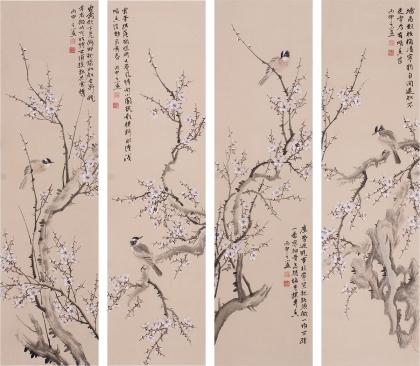 【已售】河南美协皇甫小喜精品花鸟画作品