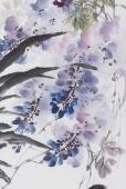 【已售】石云轩四尺竖幅写意花鸟画《大吉图》