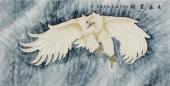 【已售】河南著名动物画家郭凤丽 四尺工笔《大展宏图》