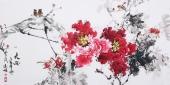 国家一级美术师王凌风 四尺横幅《天香》