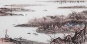 北京美协张春奇四尺横幅山水