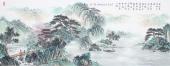 【已售】广西美协会员欧阳小六尺横幅小写意山水