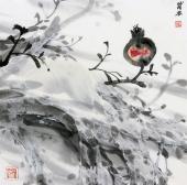 国家一级美术师李成林三尺斗方冰雪画