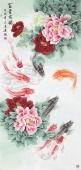 中央美院刘志高四尺竖幅精品工笔《》