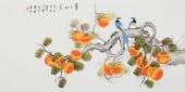 【已售】北京中央美院凌雪四尺横幅工笔画《事事如意》